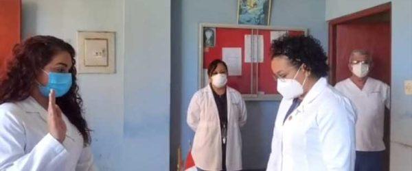 Ceremonia de Juramentación de la Junta Directiva del Cuerpo Médico Chancay