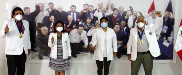 Ceremonia de juramentación Cuerpo Médico Lima Este