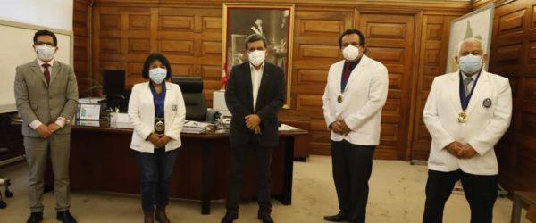 FMP se reúne con el Ministro de Salud – Hernando Cevallos